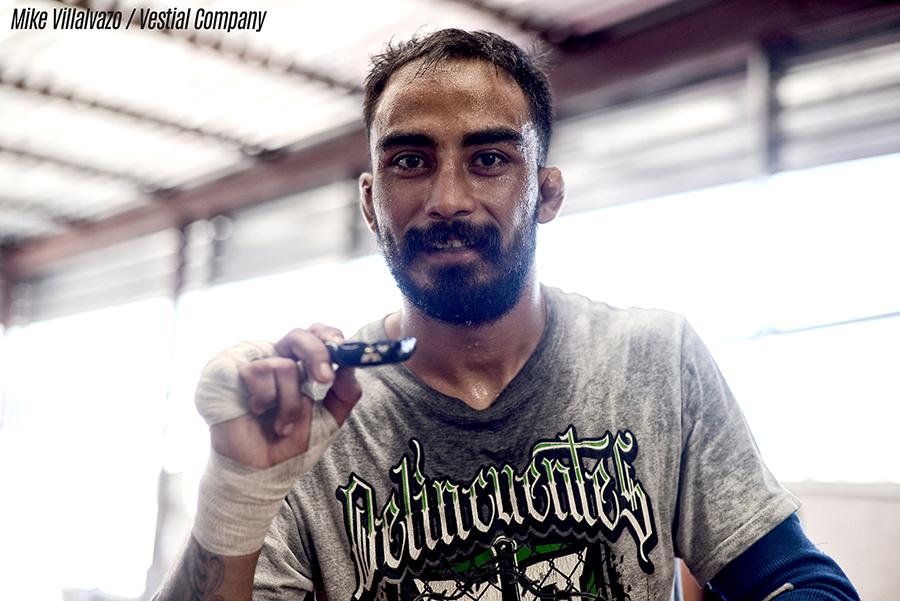 Jose Quinonez training for UFC 229 (Photo credit: Mike Villalvazo / Vestial Company)