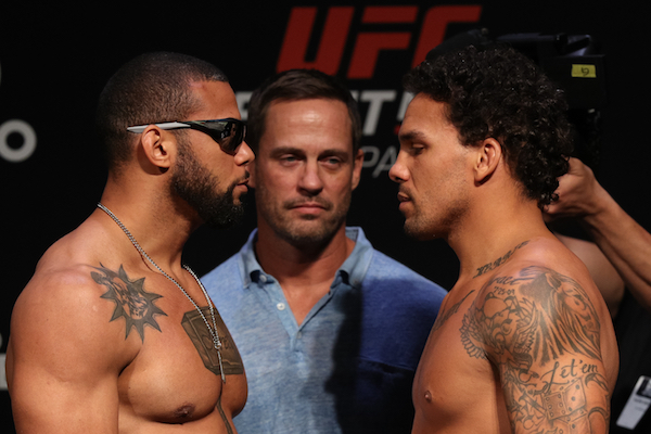 Fight Night Sao Paulo Official Weigh-In Results