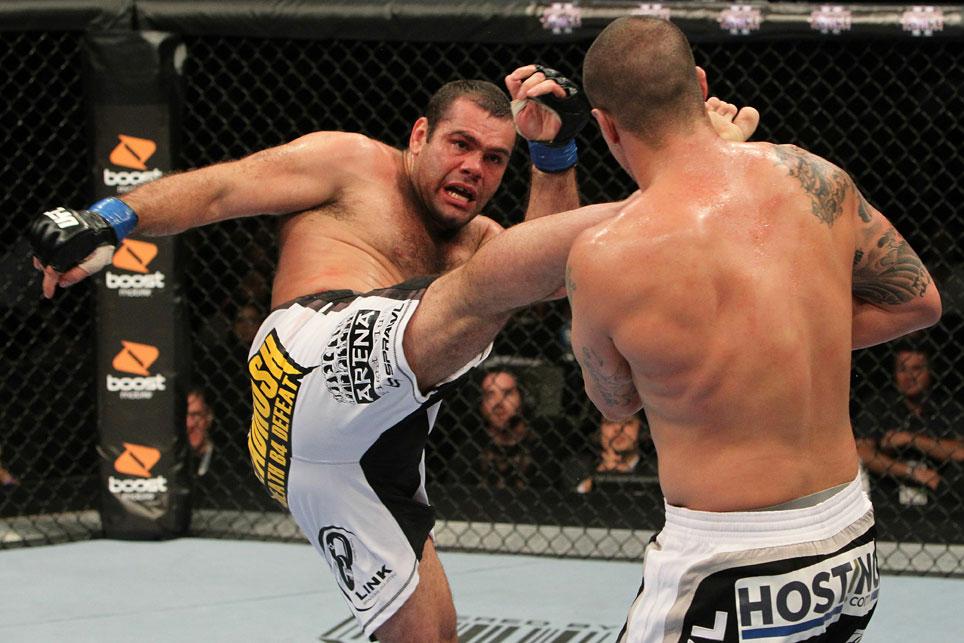 UFC heavyweight Gabriel Gonzaga