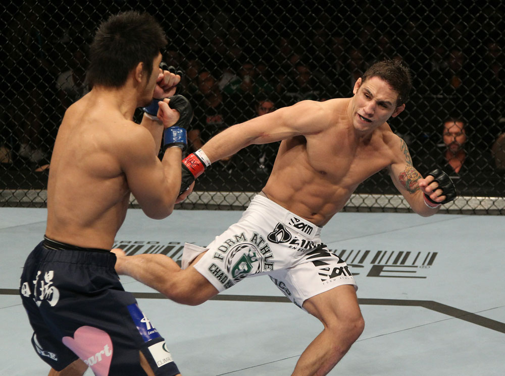 UFC featherweight Chad Mendes