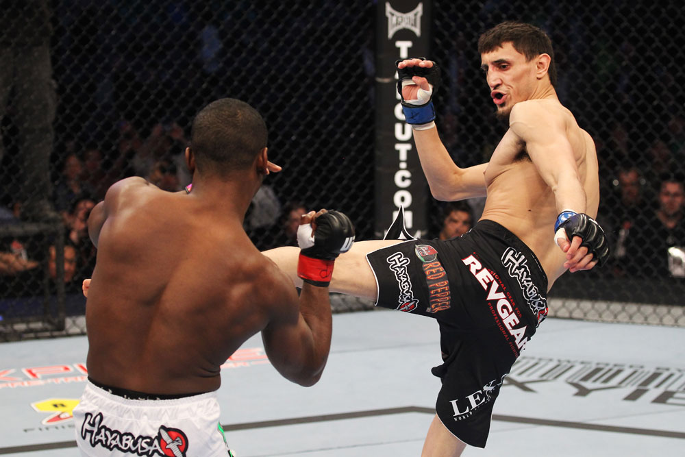 UFC featherweight Pablo Garza
