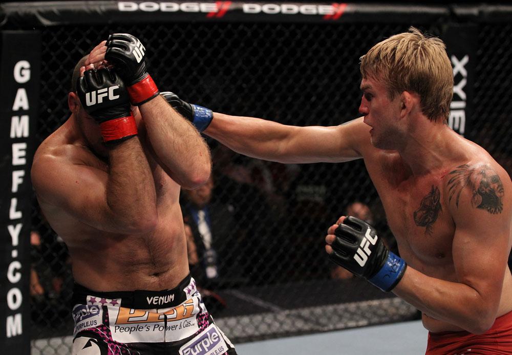 UFC light heavyweight Alexander Gustafsson
