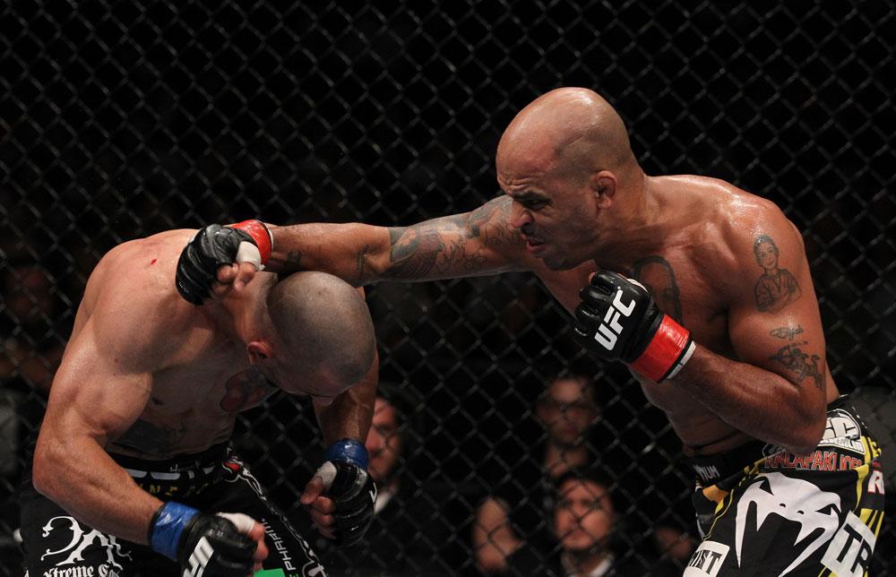 UFC middleweight Jorge Rivera