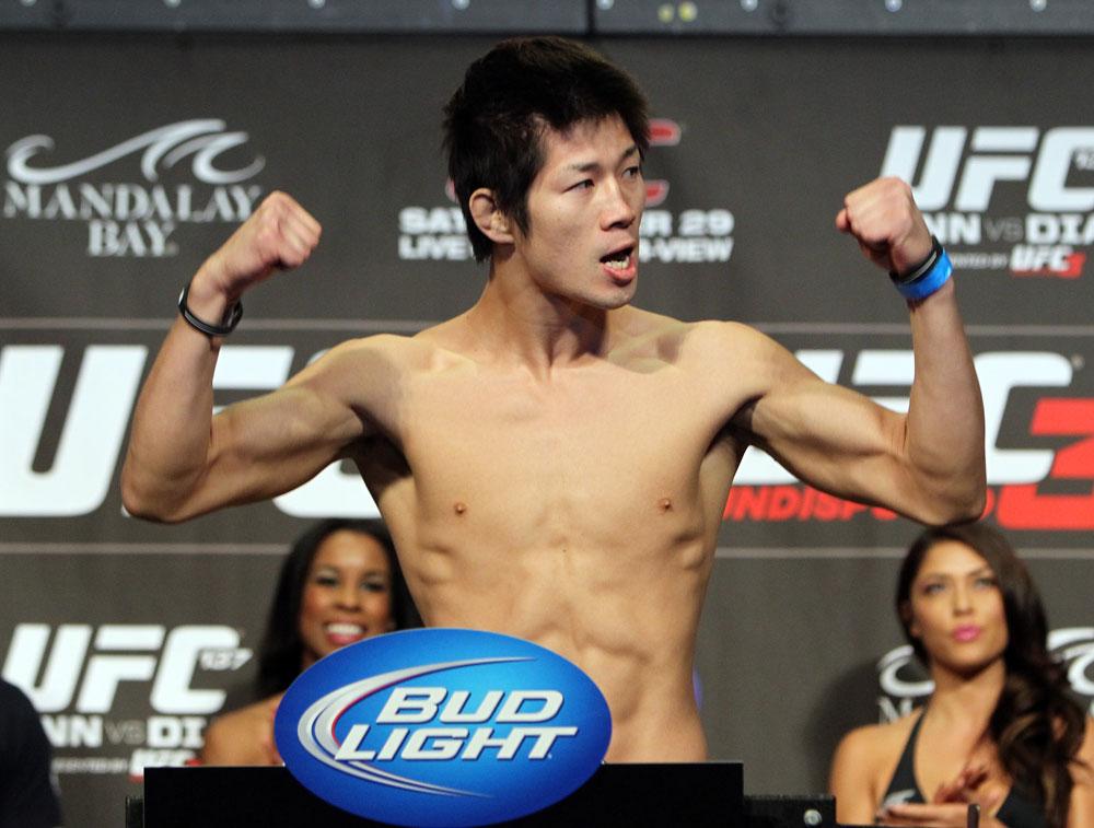 UFC featherweight Hatsu Hioki