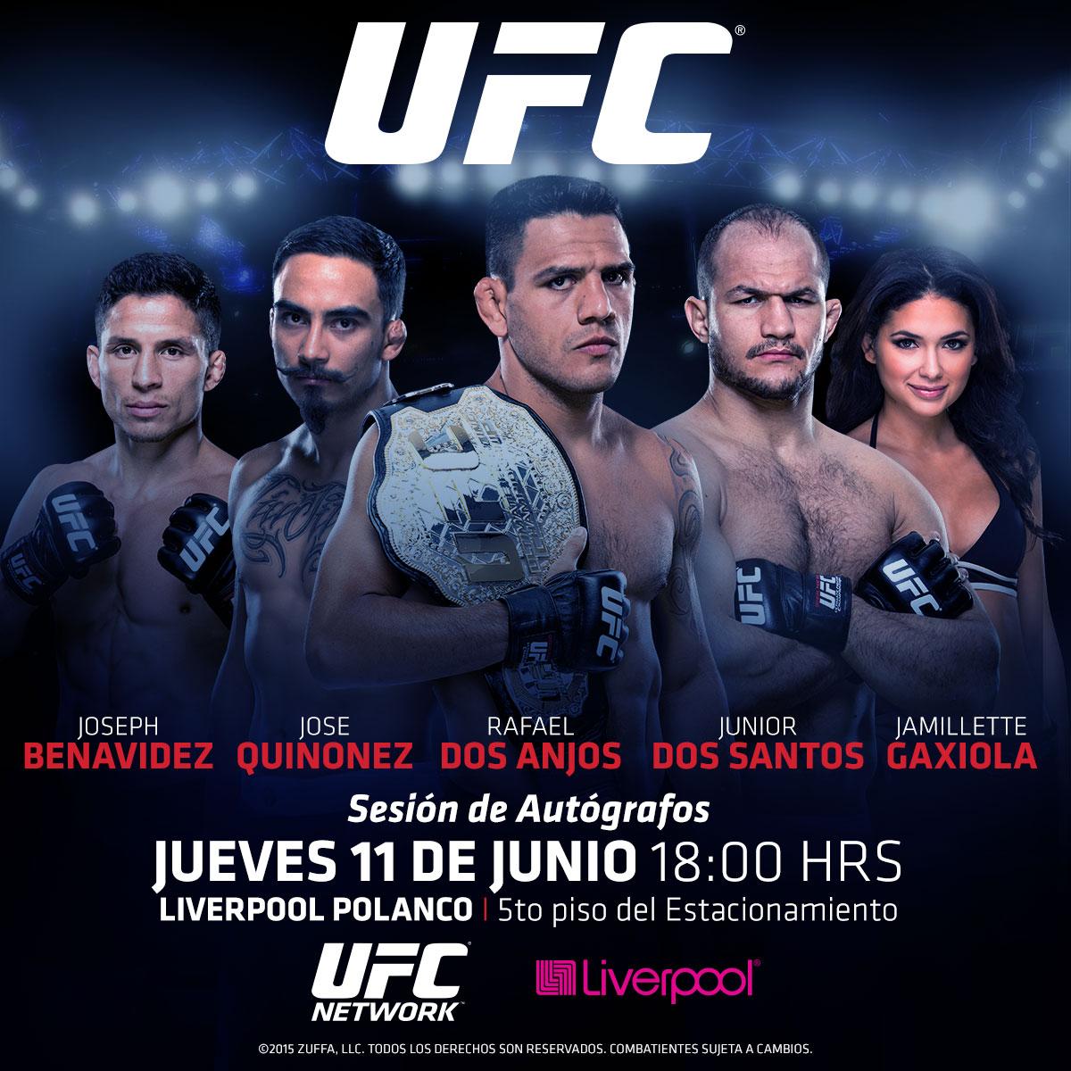 Aparición de Peleadores y Regalo de Entradas Para UFC 188  8d0f0bd7530