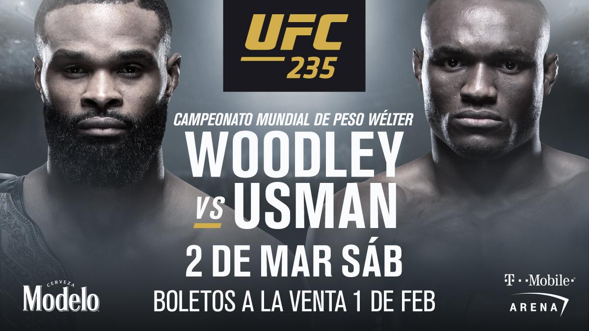 UFC 235 co-estelar Woodley vs Usman