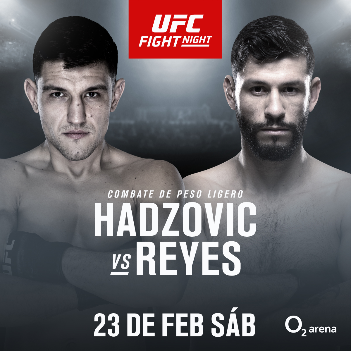 Damir Hadzovic vs Marco Polo Reyes anuncio