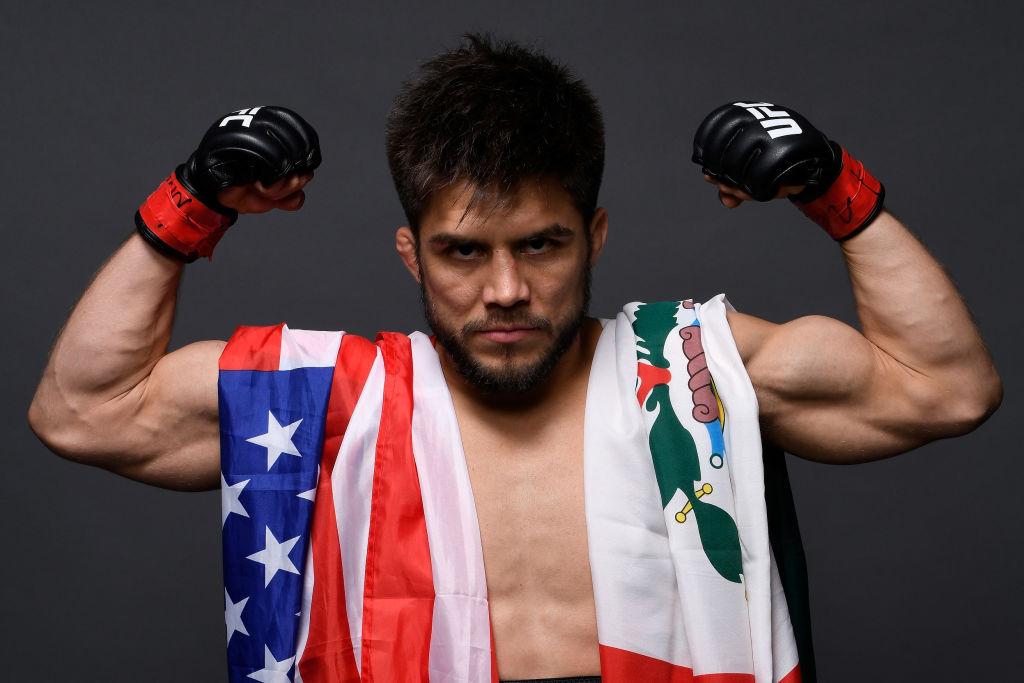 Henry Cejudo post UFC Brooklyn victory portrait