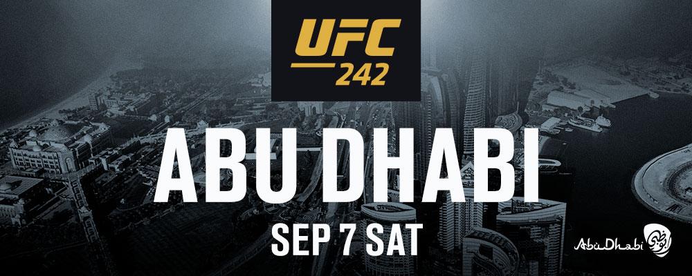 UFC 242 Abu Dhabi   UFC