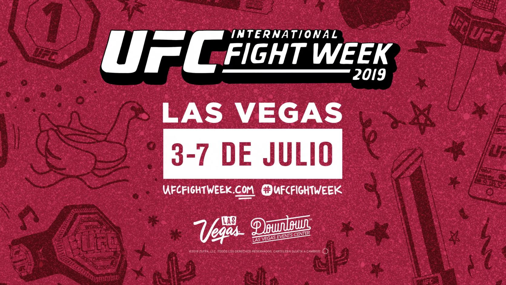 International Fight Week 2019 en Julio
