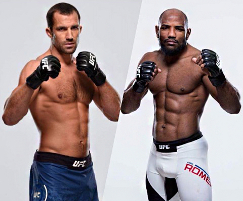 Luke Rockhold and Yoel Romero meet in the main event at UFC 221 live from Perth, Australia on Pay-Per-View