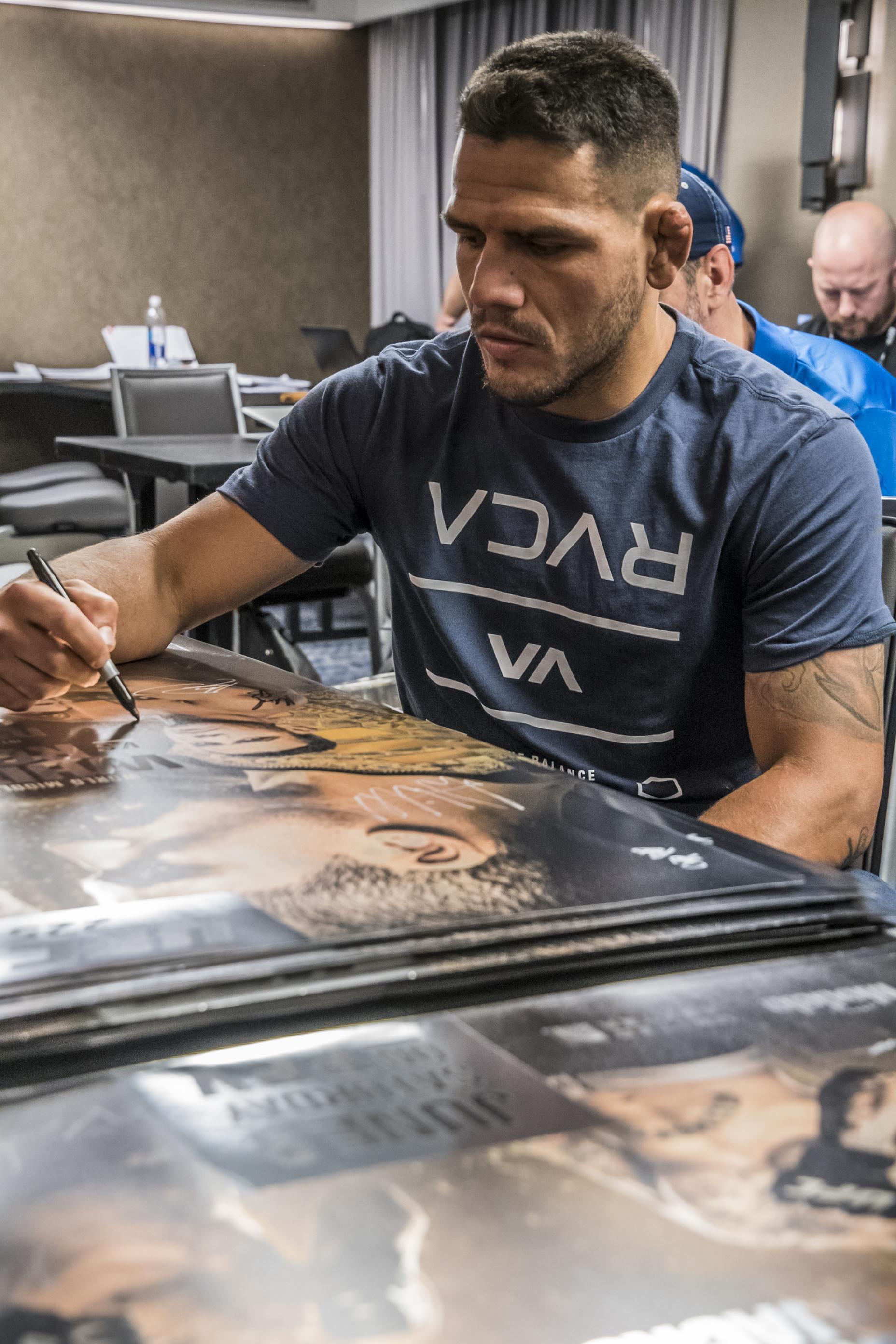 RDA at UFC 225 check-ins (Photo by Juan Cardenas/Zuffa LLC)