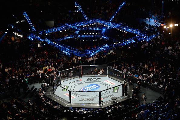 The arena in Mexico for UFC 180