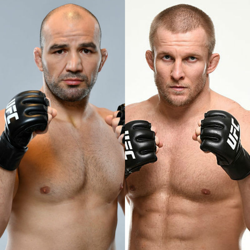 Glover Teixeira and Misha Cirkunov meet on the main card of Fight Night Winnipeg on Saturday