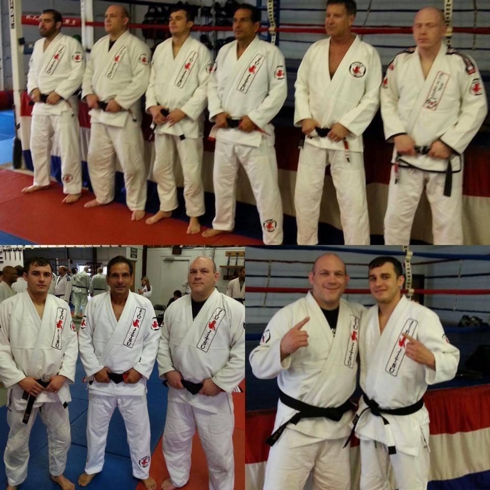 Jury Promoted to BJJ Black Belt | UFC
