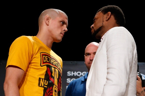 Joe Lauzon and Michael Johnson
