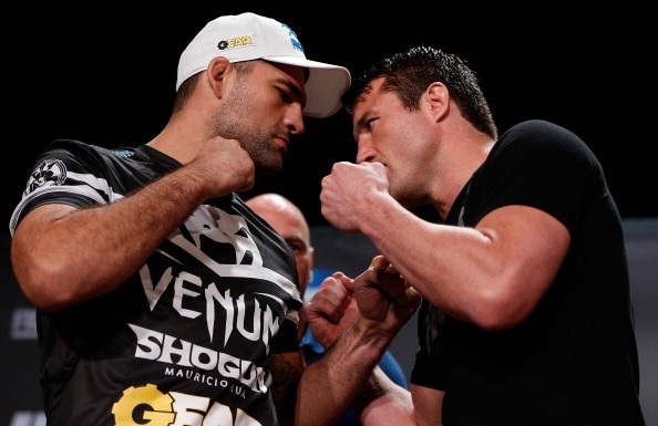 "Chael Sonnen and Mauricio ""Shogun"" Rua"