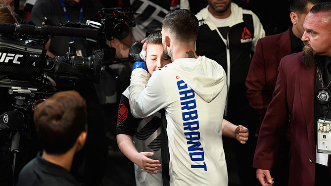 the pact a ufc champion a boy with cancer and their promise to win the ultimate battle