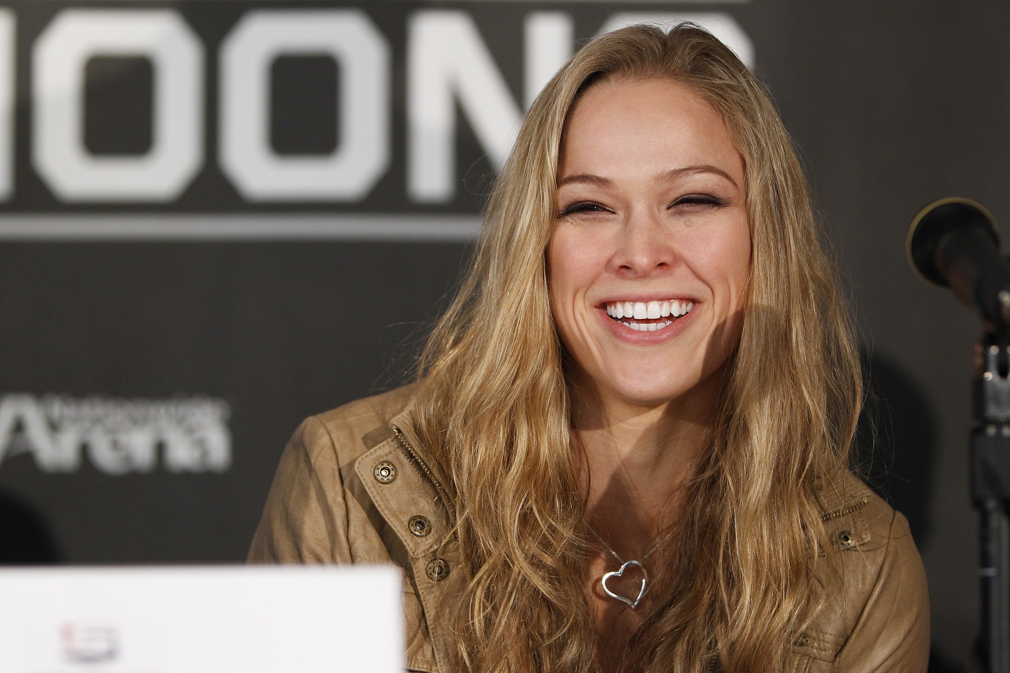 Strikeforce bantamweight champion Ronda Rousey