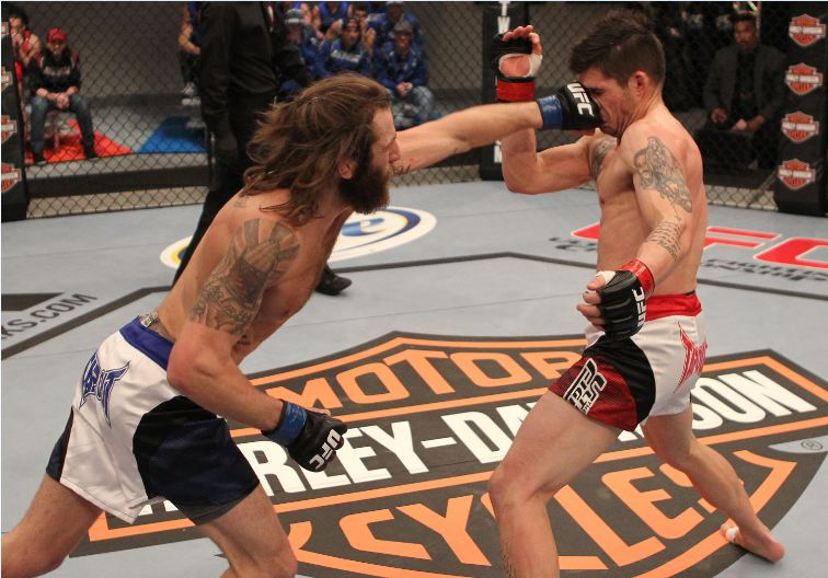 UFC lightweight Michael Chiesa