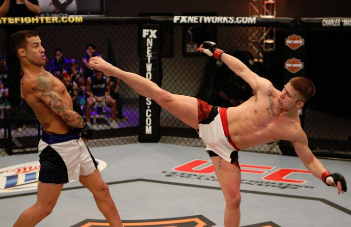 UFC lightweight Justin Lawrence