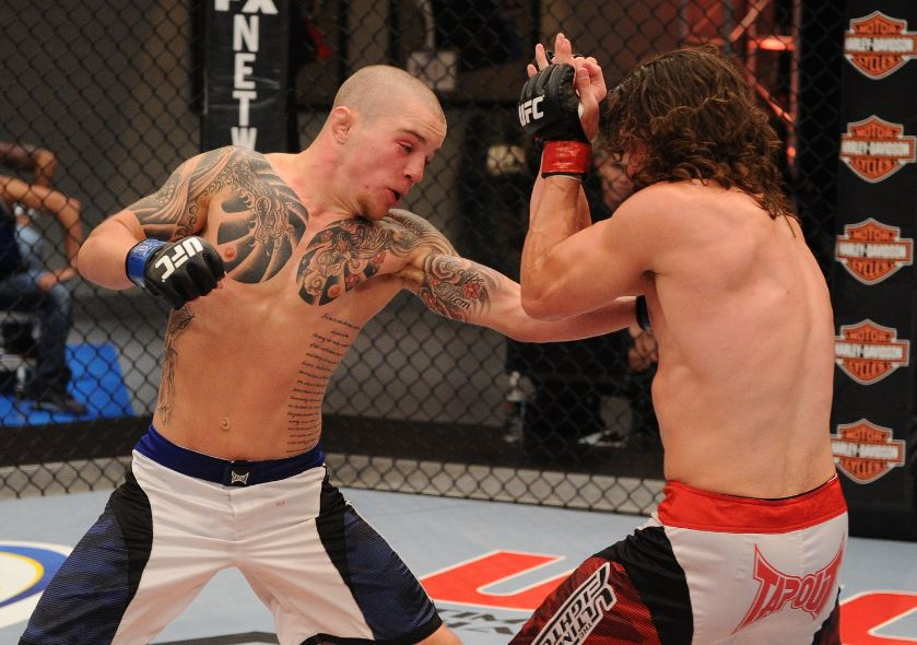 UFC featherweight Andy Ogle