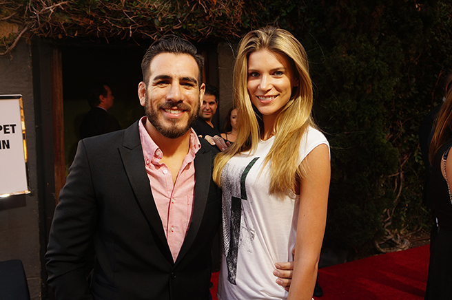 Kenny Florian and fiancee Clark Gilmer