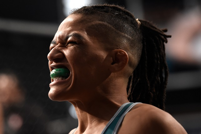 Eubanks prepares for her fight against Stevenson on Episode 5 of The Ultimate Fighter