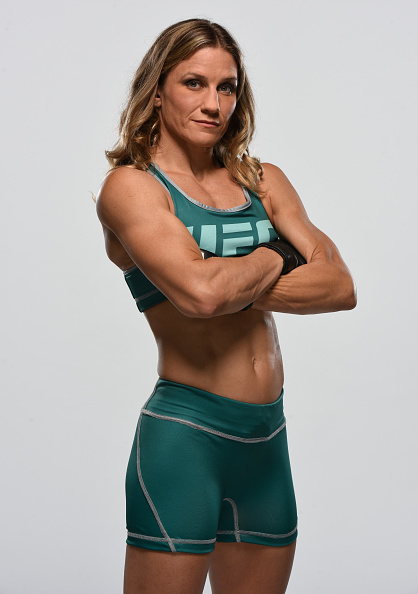 Barb Honchak poses during her season on The Ultimate Fighter