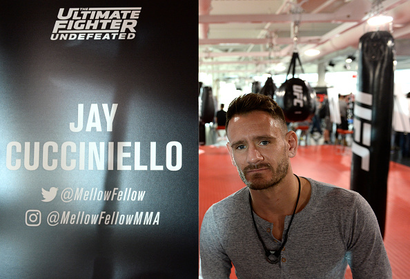 LAS VEGAS, NV - FEBRUARY 02: Jay Cucciniello poses for a photo during the The Ultimate Fighter: Undefeated Cast & Coaches Media Day inside the UFC Performance institute on February 2, 2017 in Las Vegas, Nevada. (Photo by Brandon Magnus/Zuffa LLC/Zuffa LLC via Getty Images)