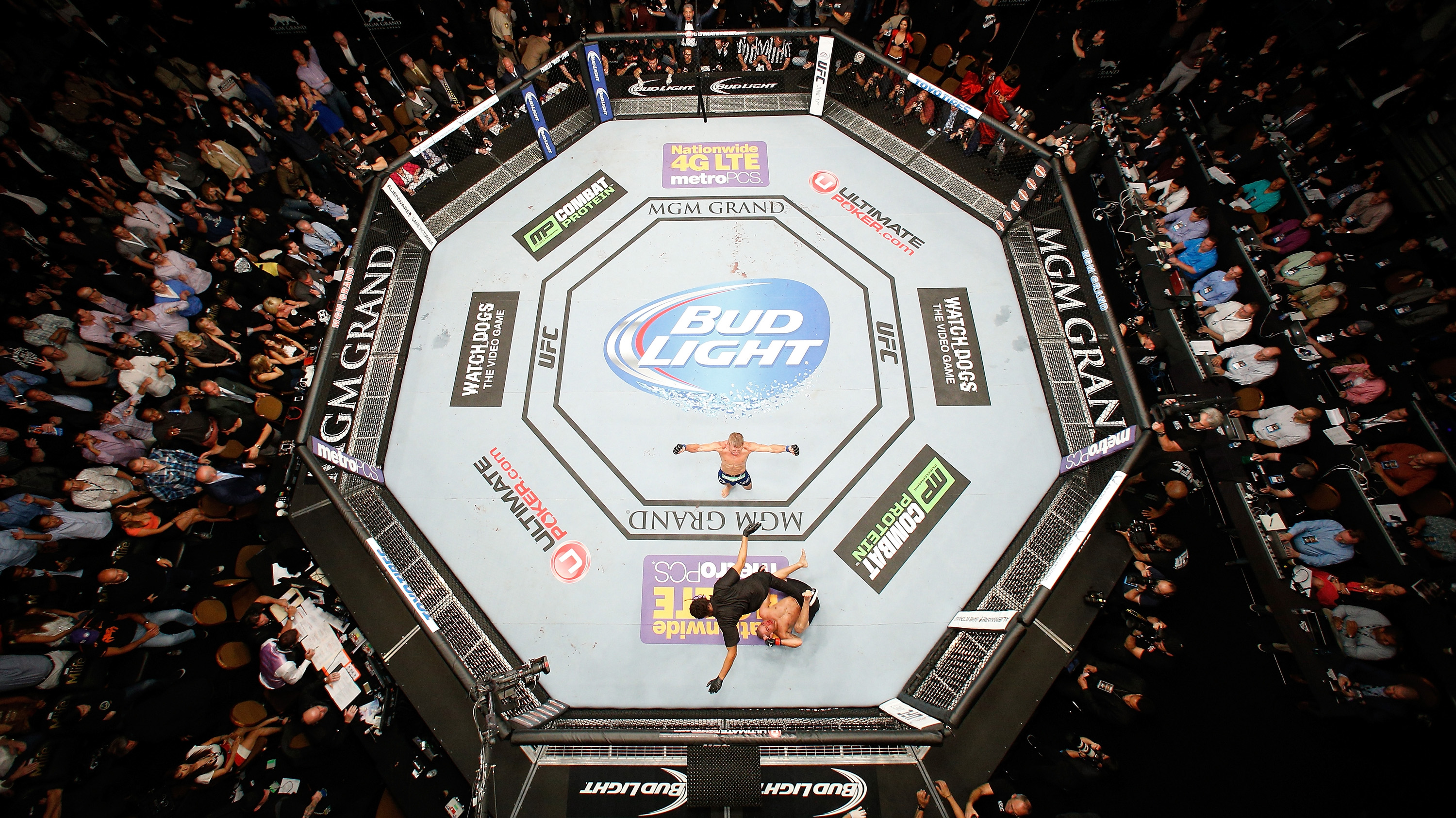 Nobody is unbeatable as Dillashaw proved at UFC 173 (Photo by Josh Hedges/Zuffa LLC/Zuffa LLC via Getty Images)