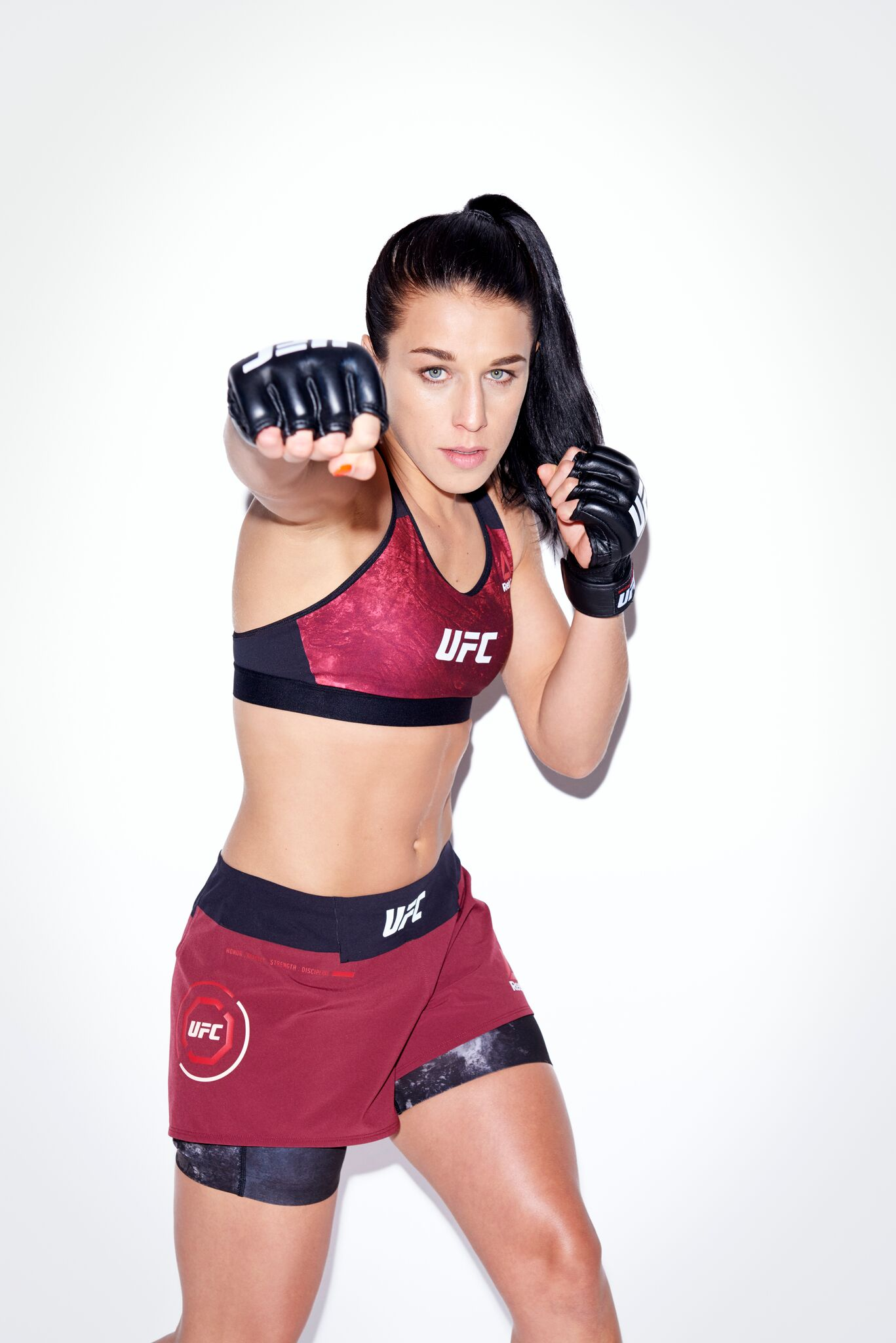 Joanna Jedrzejczyk currently holds the UFC's women's strawweight title and is the No. 8 pound-for-pound fighter in the world