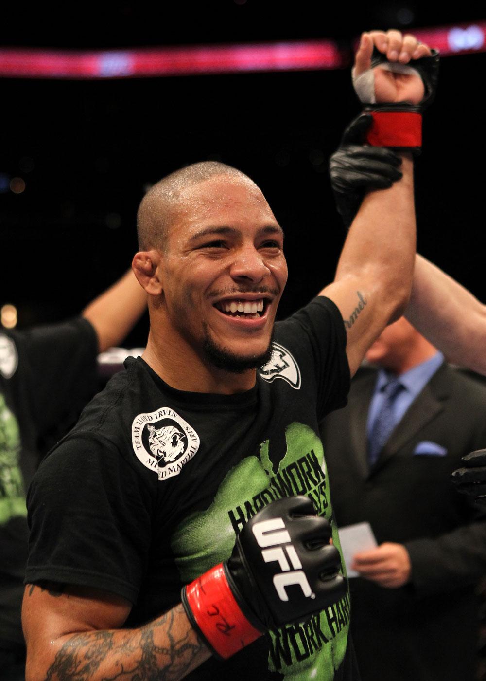 UFC bantamweight Mike Easton