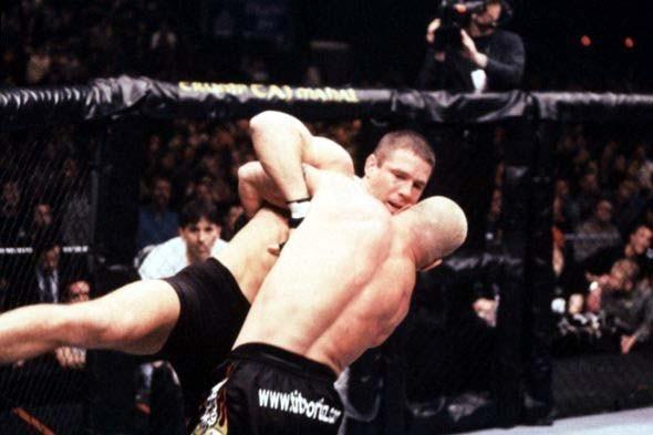 UFC 30 Ortiz vs Tanner