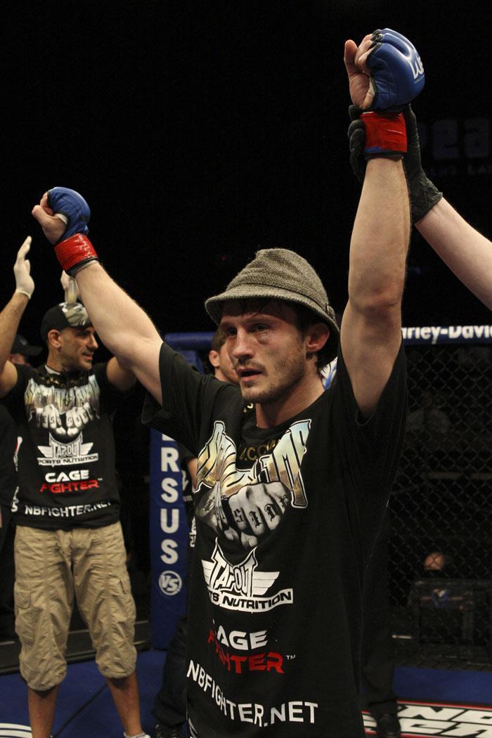 UFC bantamweight Brad Pickett