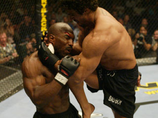 Belfort emblema del UFC