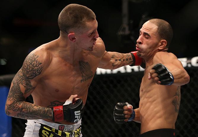 UFC bantamweight Dustin Pague