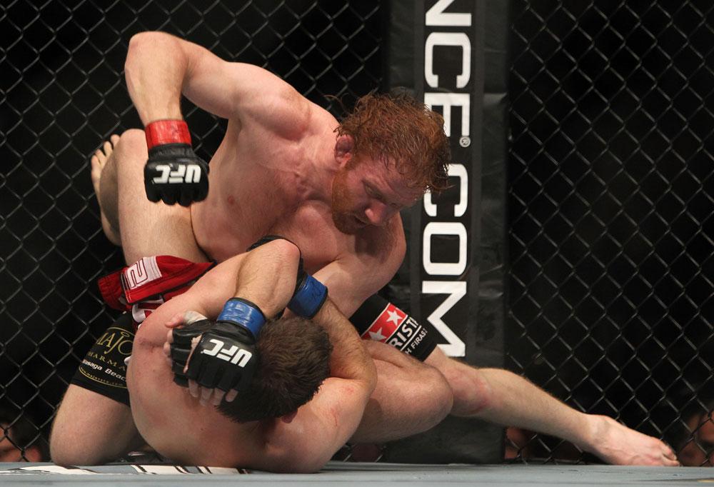 UFC lightweight Mark Bocek