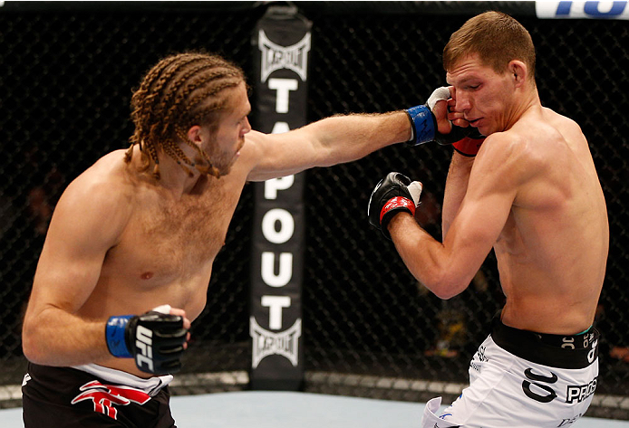 UFC middleweight Andrew Craig