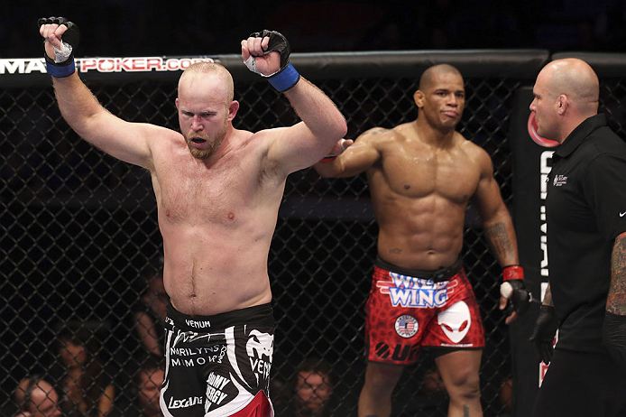 UFC 149 - Boetsch vs. Lombard