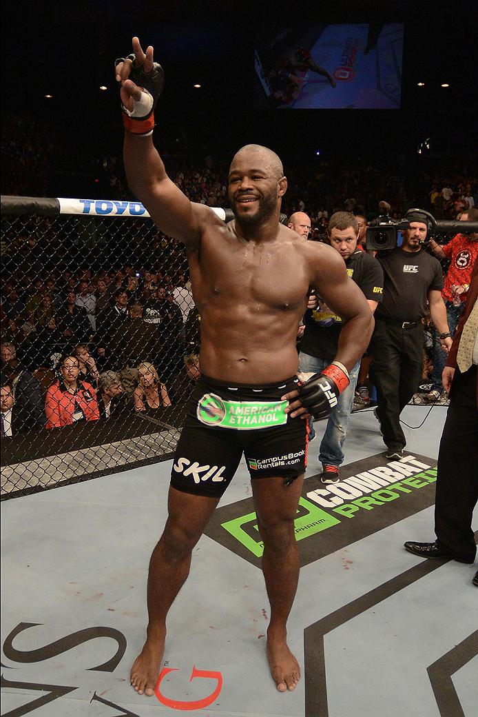 UFC light heavyweight Rashad Evans