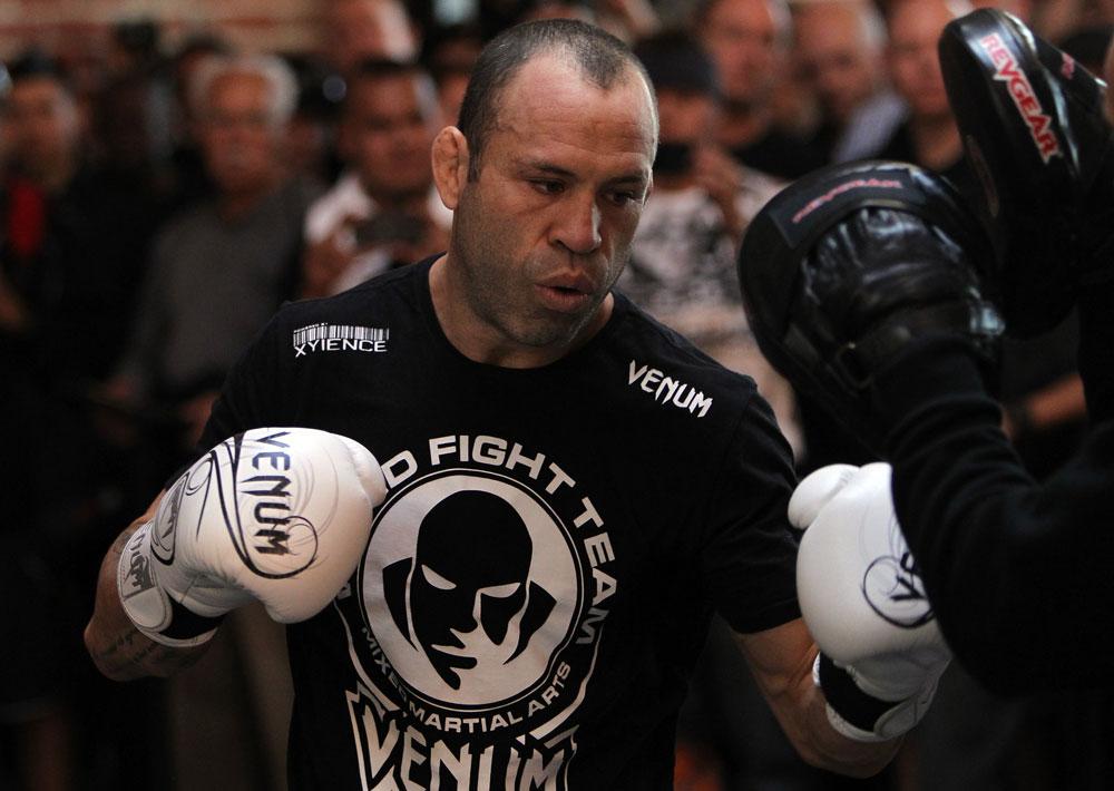 UFC middleweight Wanderlei Silva