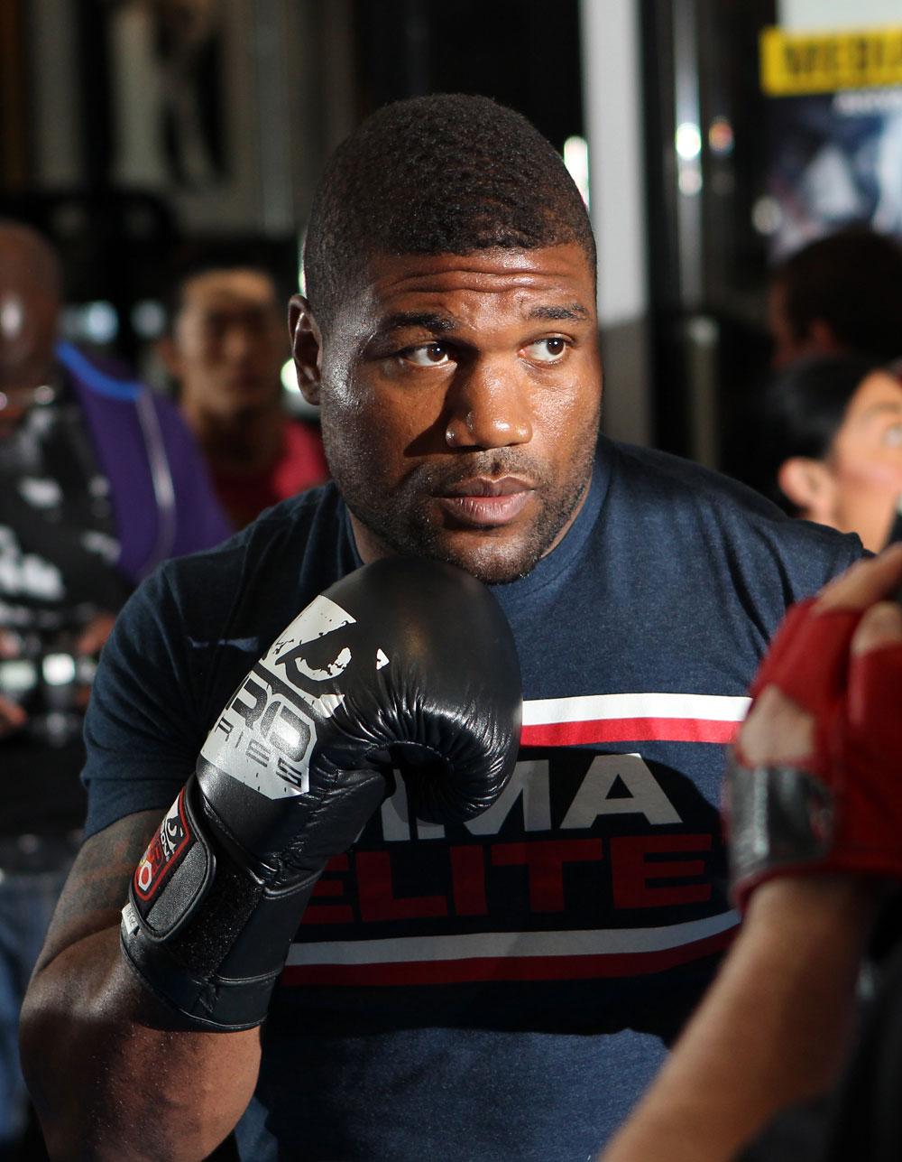 "UFC light heavyweight Quinton ""Rampage"" Jackson"