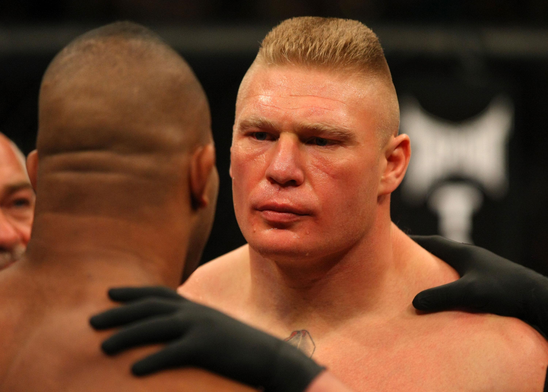 Former UFC heavyweight champion Brock Lesnar