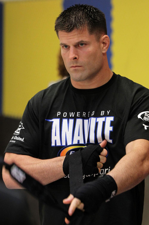 UFC middleweight Brian Stann