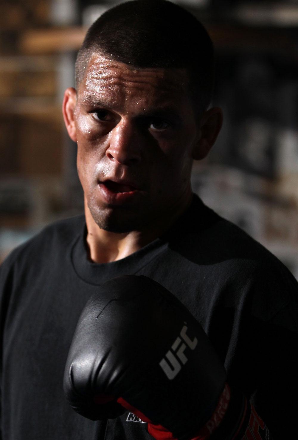 UFC lightweight Nate Diaz