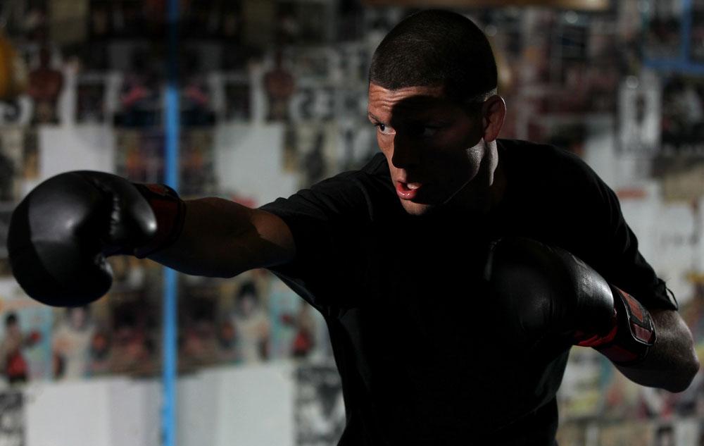 Nate Diaz, un gran exponente del boxeo