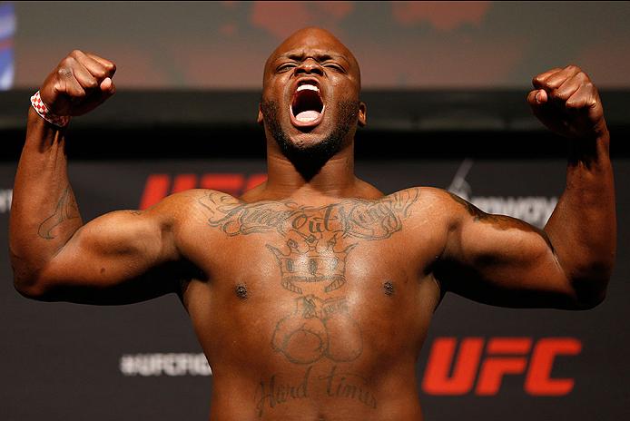 UFC heavyweight Derrick Lewis