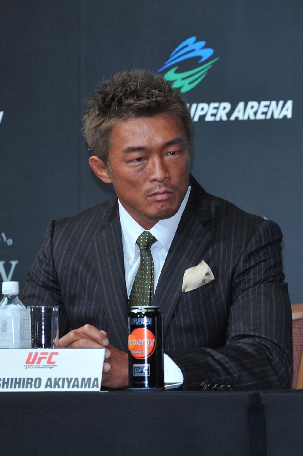 UFC welterweight Yoshihiro Akiyama