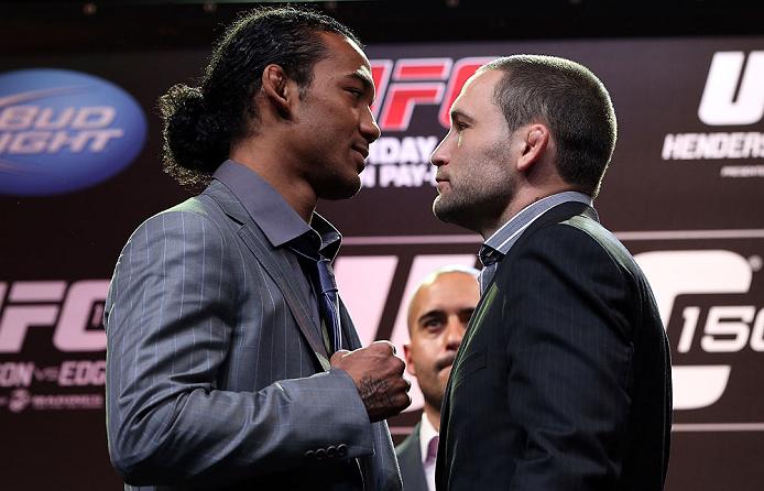Henderson vs Edgar este Sábado 11 en UFC 150